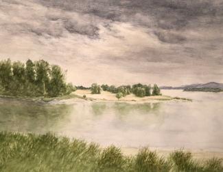 2018 0513 Columbia River at Kalama
