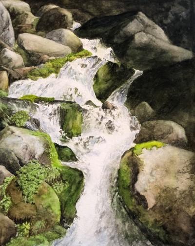 20190419 Mowich Waterfalls